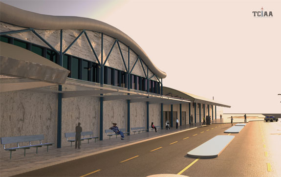 $10M Improvements Announced at Providenciales Airport Terminal